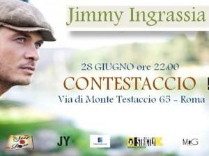 Jimmy Ingrassia in concerto al Contestaccio (Roma)