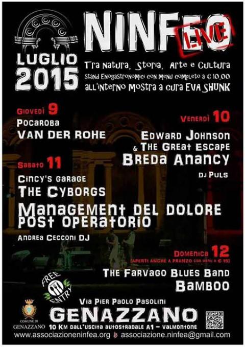 Ninfeo Live 2015 Genazzano (Roma)