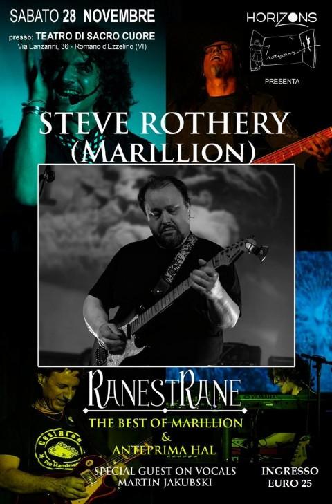Steve Rothary dei Marillion in Italia