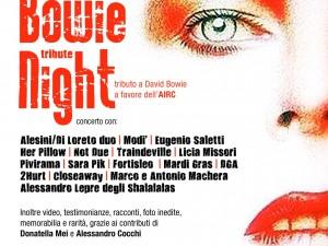 Il 27 Febbraio a Roma il 'Bowie Tribute Night'