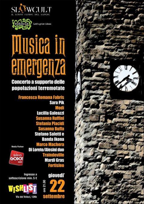 Musica in emergenza - Roma 2016