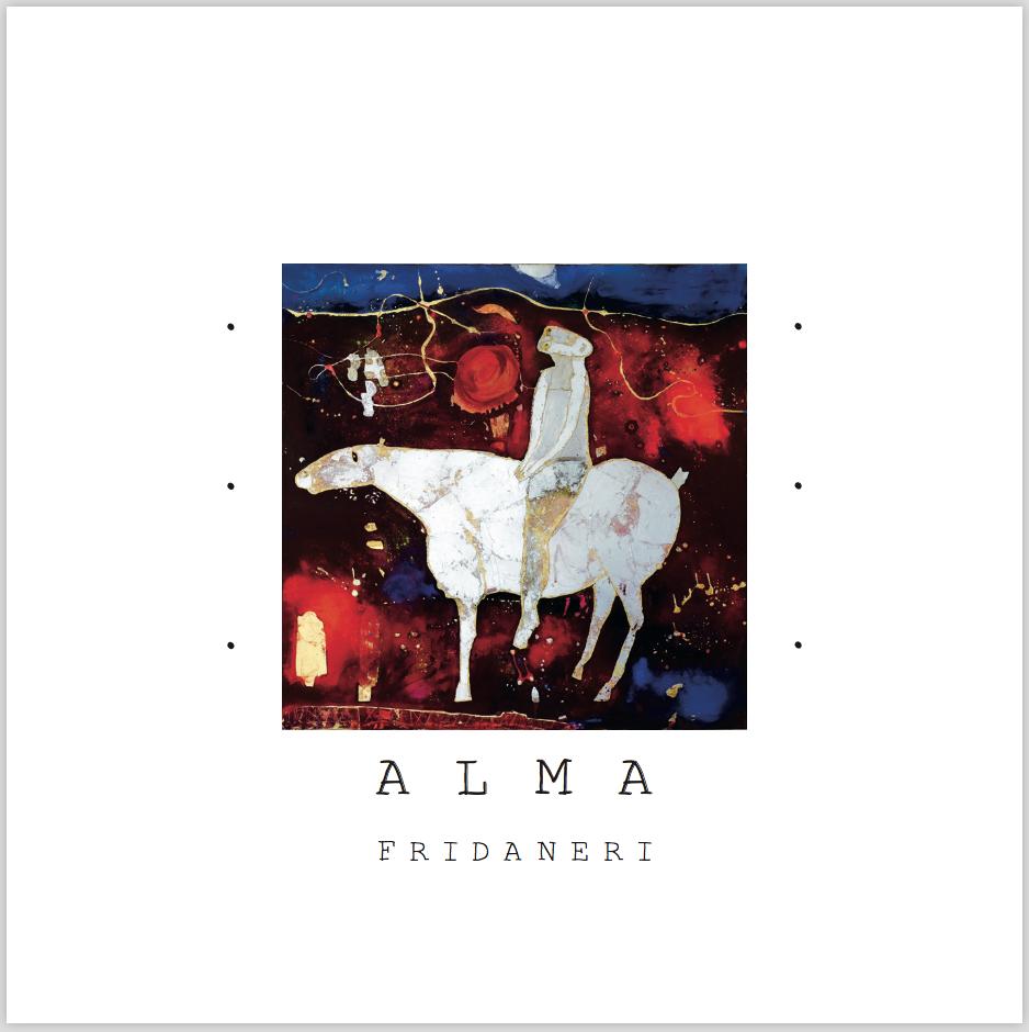 """Frida Neri """"Alma"""" - Copertina album"""