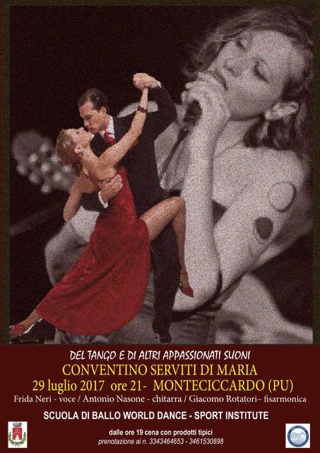 """""""Del tango e di altri appassionati suoni 2017"""" FRIDA NERI in concerto"""