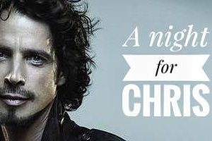 """A night for Chris"": una Jam session dedicata a Chris Cornell"